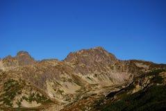 De bergen Tatra Royalty-vrije Stock Foto
