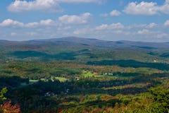 De bergen van Adirondack Stock Foto's