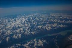 De Bergen van Alaska royalty-vrije stock afbeeldingen