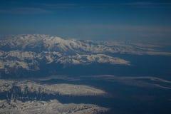 De Bergen van Alaska royalty-vrije stock foto