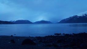 De bergen van Alaska stock afbeeldingen