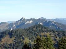 De bergen van alpen Royalty-vrije Stock Afbeelding