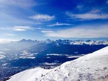 De bergen van alpen Royalty-vrije Stock Fotografie