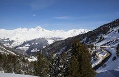 De bergen van alpen Stock Fotografie