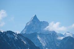 De Bergen van Alpen - tussen Ijs en Sneeuw Royalty-vrije Stock Afbeeldingen