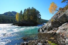 De Bergen van Altai Stock Afbeelding
