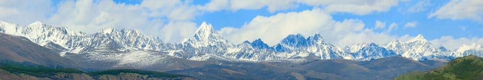 De Bergen van Altai royalty-vrije stock foto