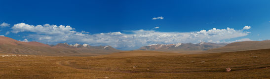 De bergen van Altai. Mooi hooglandlandschap stock fotografie
