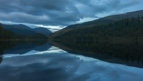 De Bergen van Altai Mooi hooglandlandschap Rusland Siberië Timelapse stock videobeelden