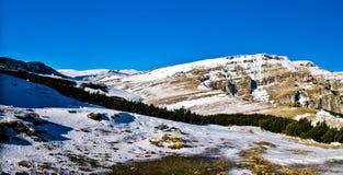 De bergen van Bucegi Stock Foto's