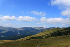 De bergen van Bucegi Royalty-vrije Stock Foto's