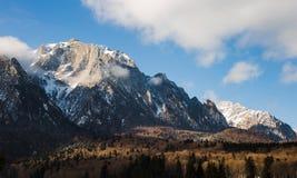 De bergen van Bucegi Stock Foto