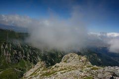 De bergen van Bucegi Royalty-vrije Stock Afbeelding