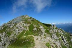 De bergen van Bucegi Royalty-vrije Stock Fotografie