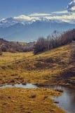 De Bergen van Bucegi, Roemenië Royalty-vrije Stock Afbeeldingen