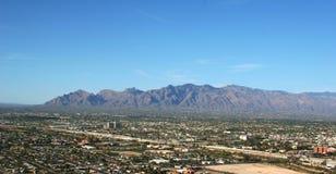 De bergen van Catalina stock afbeeldingen
