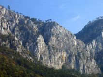 De Bergen van Cerna, de Karpaten, Roemenië Royalty-vrije Stock Afbeelding