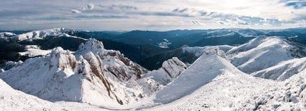 De bergen van Ciucas Stock Foto