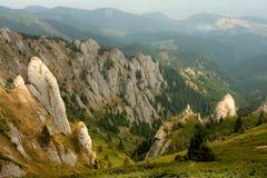 De Bergen van Ciucas, Roemenië Stock Foto's