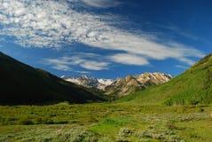 De bergen van Colorado stock fotografie