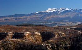 De bergen van Colorado stock afbeeldingen