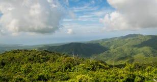 De bergen van Cuba Stock Foto's