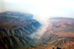 De Bergen van de Andes stock afbeelding