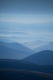 De bergen van de Andes - landschappen Stock Afbeeldingen