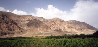 De bergen van de atlas royalty-vrije stock afbeelding