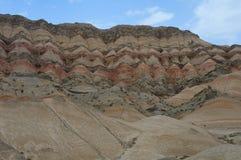 De Bergen van de hemel, Xinjiang, China Stock Foto