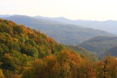 De bergen van de herfst Stock Fotografie