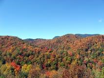De bergen van de herfst Stock Afbeeldingen