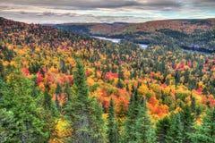 De Bergen van de herfst Stock Afbeelding