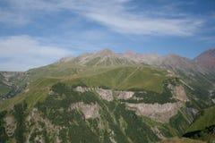 De Bergen van de Kaukasus Royalty-vrije Stock Foto