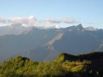 In de bergen van de Kaukasus Royalty-vrije Stock Foto's