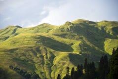 De bergen van de Kaukasus Stock Afbeeldingen