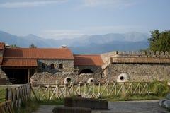 De bergen van de Kaukasus Stock Afbeelding
