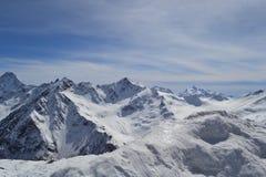 De bergen van de Kaukasus Royalty-vrije Stock Foto's