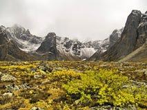 De bergen van de monoliet Stock Afbeeldingen