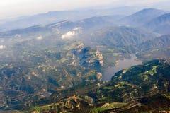 De bergen van de Pyreneeën Stock Afbeelding