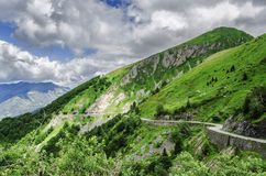 De bergen van de Pyreneeën Royalty-vrije Stock Foto's