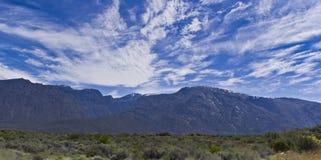 De bergen van de Rivier van de Hexuitdraai Royalty-vrije Stock Foto's