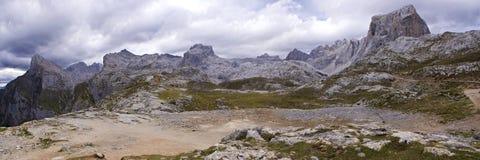 De bergen van de rots. Stock Fotografie