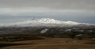 De bergen van de sneeuw Royalty-vrije Stock Fotografie