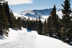De Bergen van de sneeuw royalty-vrije stock foto's