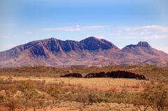 De bergen van de Waaiers van Flinders in Australië Royalty-vrije Stock Afbeelding