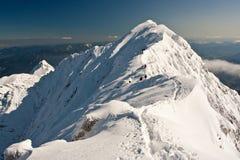 De bergen van de winter Royalty-vrije Stock Afbeelding