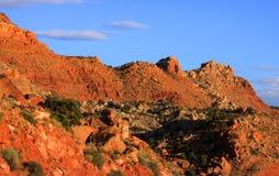 De bergen van de woestijn Stock Afbeelding