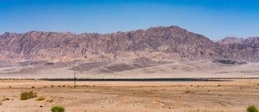 De Bergen van de woestijn royalty-vrije stock fotografie