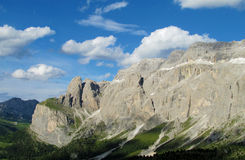 De bergen van dolomietalpen Royalty-vrije Stock Foto